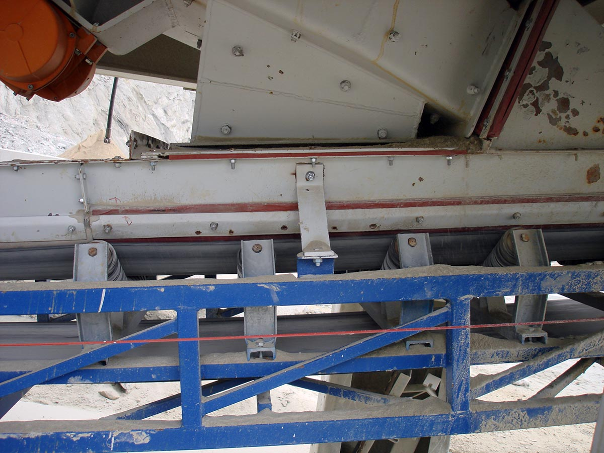 Zamenjava amortizacijskih valjčkov z amortizacijskimi letvami